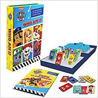 Paw Patrol: Who Am I Book & Games 02 Box - Nickelodeon (Paperback)