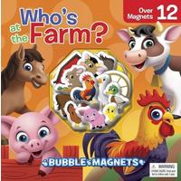 Who's At the Farm?: Bubble Magnets - Phidal