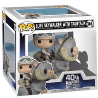 Funko Pop! Star Wars - The Empire Strikes Back - Luke Skywalker with Tauntaun Pop Vinyl Figure - Cover