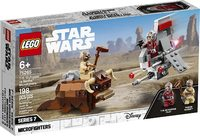 LEGO® Star Wars - T-16 Skyhopper vs Bantha Microfighters (198 Pieces) - Cover