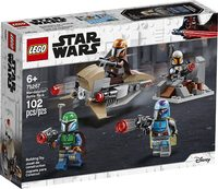 LEGO® Star Wars - Mandalorian Battle Pack (102 Pieces) - Cover