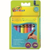 Crayola - 16 Triangular Crayons - Cover