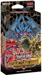 Yu-Gi-Oh! - Structure Deck - Sacred Beasts (Trading Card Game) - Cover