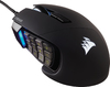 Corsair + Scimitar Elite RGB Optical Moba/MMO Gaming Mouse - Black