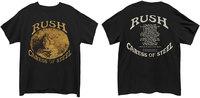 Rush - Caress of Steel Men's T-Shirt - Black (XX-Large) - Cover