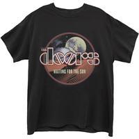 The Doors - Waiting For the Sun Men's T-Shirt - Black (X-Large)