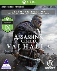 Assassin's Creed Valhalla - Ultimate Edition (Xbox One / Xbox Series X) - Cover