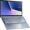 ASUS - ZenBook UX431FA-i582BLR i5-10210U 8GB RAM 256GB SSD Win 10 Pro HD Web Cam WiFi+BT NumPad Backlit Keyboard 14 inch FHD Anti-Glare Notebook - Blue Metal