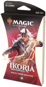 Magic: The Gathering - Ikoria: Lair of Behemoths Theme Booster - White (Trading Card Game) - Cover