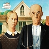 Grant Wood - American Gothic Puzzle (1000 Pieces)