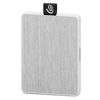 Seagate 500GB One Touch Mini Portable 2.5 inch Solid State Drive  - White