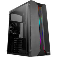 Antec NX110 ARGB Mid Tower Gaming Chassis - Black