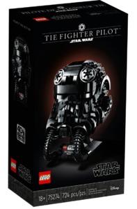 LEGO® Star Wars - TIE Fighter Pilot Helmet (724 Pieces) - Cover