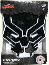 Marvel - Black Panther 6 inch 3D Mood Light - Cover