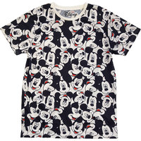 Mickey Mouse - Aop Heads Unisex T-Shirt - White (Medium) - Cover