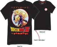 Dragon Ball Z - Super Saiyan T-Shirt - Black (13-14 Years) - Cover