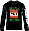 Minecraft - Game Over - Long Sleeve T-Shirt - Black (11-12 Years)