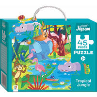 Tropical Jungle Junior Jigsaw Puzzle Series 3 - Hinkler (45 Pieces)