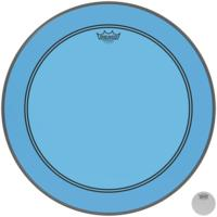 Remo P3-1320-CT-BU 20 Inch Powerstroke 3 Colortone Bass Drum Batter Head (Blue)