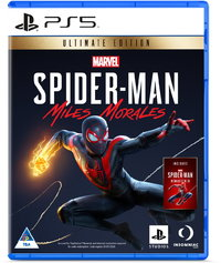 Marvel's Spider-Man: Miles Morales - Ultimate Edition (PS5) - Cover