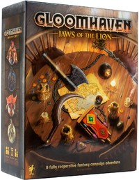 Gloomhaven - Jaws of the Lion (Board Game) - Cover