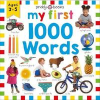 My First 1000 Words - Roger Priddy (Board Book)