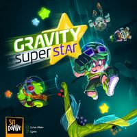 Gravity Superstar (Board Game) - Cover