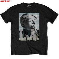 Tupac - L.A. Skyline Boys T-Shirt – Black (3-4 Years) - Cover