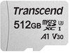 Transcend 512GB Micro SDXC Card - Class 10 Uhs-I U1/U3 V30 A1 with SD Adaptor