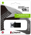 Kingston Technology - 128GB DataTraveler microDuo 3.0 G2 microUSB and USB Type-A Flash Drive for Android OTG