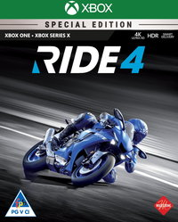 RIDE 4 - Special Steelbook Edition (Xbox One / Xbox Series X) - Cover