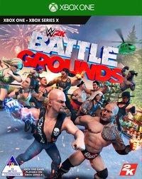 WWE 2K Battlegrounds (Xbox One / Xbox Series X) - Cover