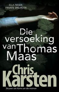 Die versoeking van Thomas Maas - Chris Karsten (Paperback) - Cover