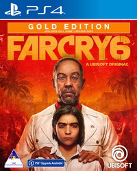 Far Cry 6 - Gold Edition (PS4/PS5 Upgrade Available) - Cover