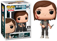 Funko Pop! Games - The Last of Us Part II - Ellie - Cover