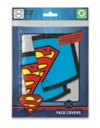 Superman - Logo Face Covering (Pack of 2) (Face Covering)