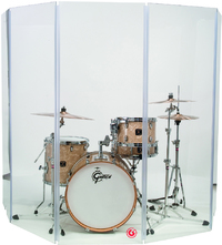 Gibraltar GDS5 5 Panel Drum Shield (5.5 x 2 Foot) - Cover