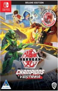 Bakugan: Champions of Vestroia - Deluxe Toy Edition (Nintendo Switch) - Cover