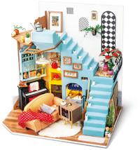 Robotime - DIY House - Joy's Peninsula Living Room (Diorama Kit) - Cover