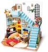 Robotime - DIY House - Joy's Peninsula Living Room (Diorama Kit)