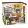 Robotime - DIY House - Mrs Charlie's Dining Room (Diorama Kit)