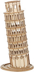Robotime - 3D Wooden Puzzle - Leaning Tower of Pisa (137 Pieces)