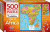 Map of Africa Puzzle - Puzzlebilities (500 Pieces)