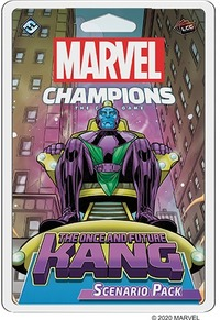 Marvel Champions - The Once and Future Kang Scenario Pack (Card Game) - Cover