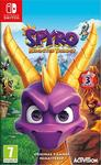 Spyro Reignited - Remastered Trilogy (French box with Multi Lang in Game) (Switch)