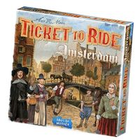 Ticket to Ride - Amsterdam (Board Game) - Cover