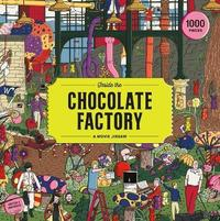 Inside The Chocolate Factory - Little White Lies (1000 Pieces) - Cover