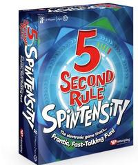 5 Second Rule: Spintensity (Party Game) - Cover