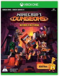 Minecraft Dungeons: Hero Edition (Xbox One / Xbox Series X) - Cover