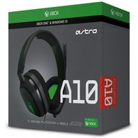 ASTRO Gaming - A10 Wired Gaming Headset - Green/Grey (Xbox One/PC/PS4)